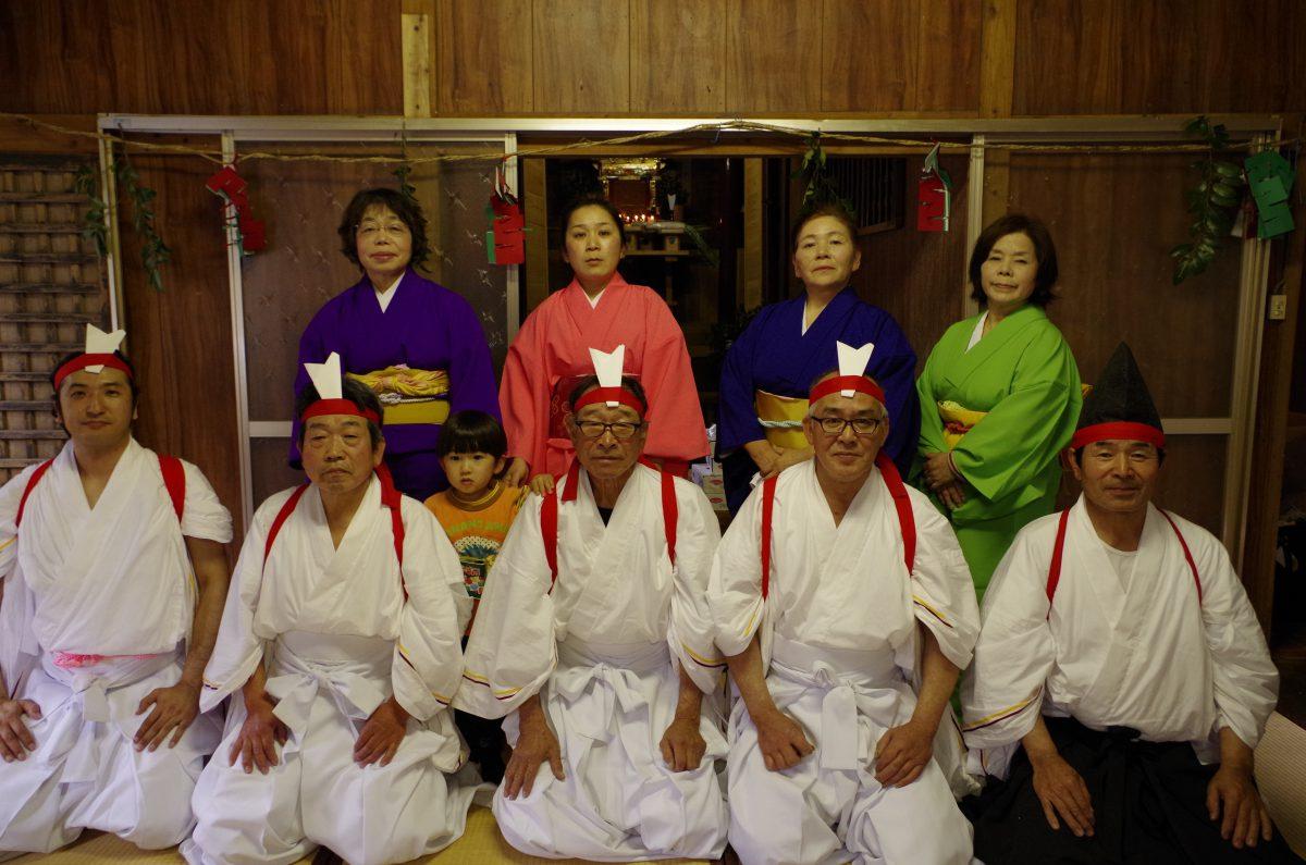 Hagi Kagura in Gokanosho